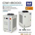 S&A air cooled water chiller welder