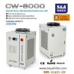S&A water cooled chiller CW-6000 for 13k