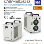 S&A air cooled chiller CW-5000 for chemi