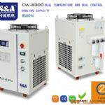 S&A air/water chiller for cooling IPG la