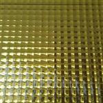 生产批发金色双格压花玻璃镜