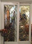 直销铜条镶嵌玻璃