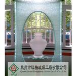 酒店园林景观叠层玻璃