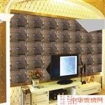 江西藝術拼鏡背景墻