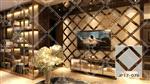 拼镜背景墙装饰  艺术玻璃背景墙   JP17-076