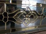 2017高品质铜条镶嵌玻璃