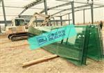 永安钢化玻璃安装施工