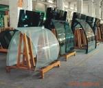 河南8毫米10毫米12毫米热弯弯钢玻璃价格