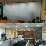 电控智能调光 智能家居酒店办公室玻璃隔断 通电透明