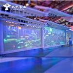 智能调光玻璃电调控隔断投影玻璃建筑玻璃艺术玻璃