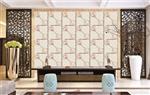 高温彩釉玻璃背景墙