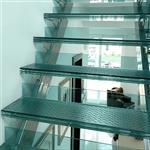 防滑楼梯玻璃