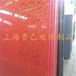 上海花纹金龙烤漆玻璃