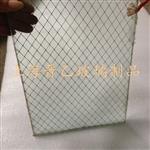 双层玻璃钢化夹丝网玻璃