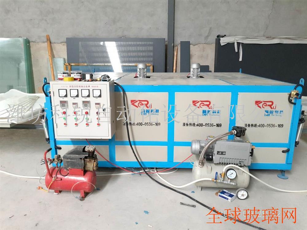 干法夹胶炉 移门 台面玻璃设备