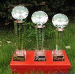 西安水晶玻璃奖杯
