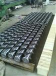 火電廠移動電極式靜電除塵器清灰螺旋鋼刷輥