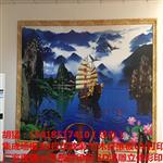 济南市竹木纤维板背景画3d打印机喷墨方式