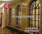 上海圆博专业手工制作彩色玻璃彩绘玻璃