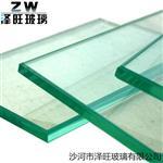5mm钢化玻璃浮法白玻