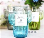 创意仙人掌玻璃花瓶插花器