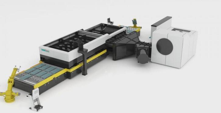 玻璃机械小型钢化炉
