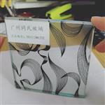 广州供应夹丝玻璃 5+5厘钢化夹丝玻璃 夹丝玻璃价格