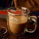 耐高温咖啡玻璃杯厂家