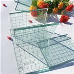 夹铁丝玻璃