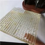 坑纹夹丝玻璃厂家 条纹夹丝玻璃