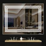 志河智能灯光除雾浴室镜壁挂镜