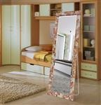 丽晶 拼镜系列全身镜子穿衣镜简约现代高清落地镜服装店试衣镜