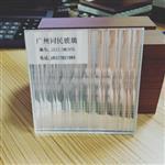 广东夹丝玻璃 条纹夹丝玻璃