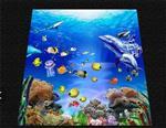 玻璃瓷砖背景墙3D效果图制作设备-UV平板打印机
