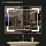 定制生产无框LED浴室镜酒店防雾镜 卫生间洗手间化妆镜高清灯