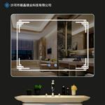 丽晶镜业 卫浴浴室除镜子壁挂式卫生间化妆镜子带LED灯智能镜