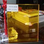 广东橙色夹层玻璃 透明黄色夹层玻璃 装饰玻璃