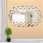丽晶 简约艺术挂镜装饰背景墙壁挂玄关镜餐厅走廊墙面装饰镜