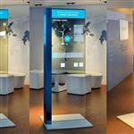 东莞惠华49寸透明液晶展示柜