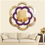 丽晶艺术玄关壁挂装饰镜 轻奢艺术背景墙创意客厅镜面拼贴挂镜