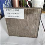 夹丝玻璃 夹绢玻璃 装饰隔断夹丝玻璃供应