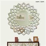 丽晶镜业玄关镜客厅墙面装饰镜子艺术镜挂镜壁挂背景墙创意