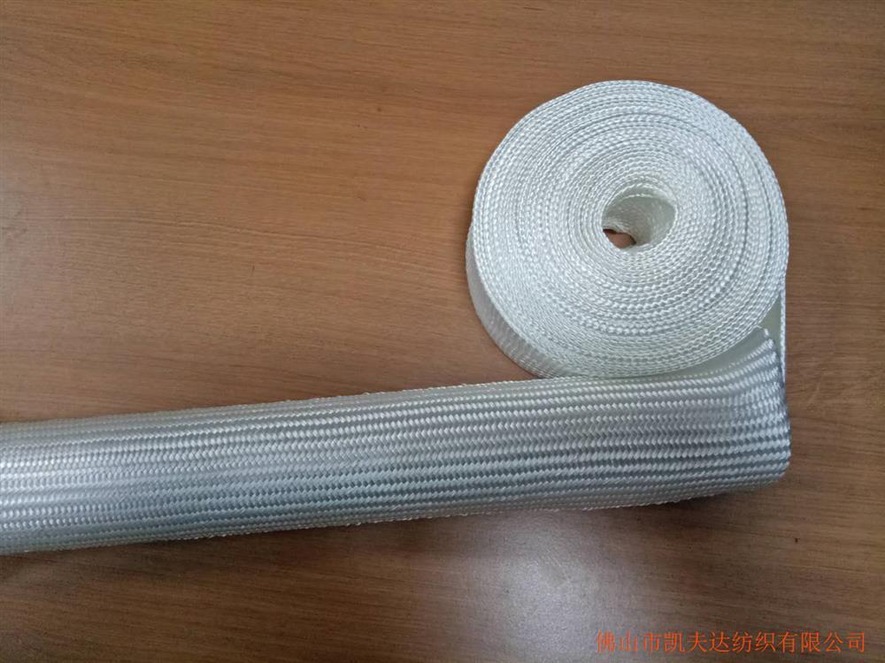 佛山市钢化炉石英玻璃纤维编织套管