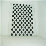东莞钢化玻璃厂 6mm钢化玻璃定制 黑色丝印 工艺图案加工