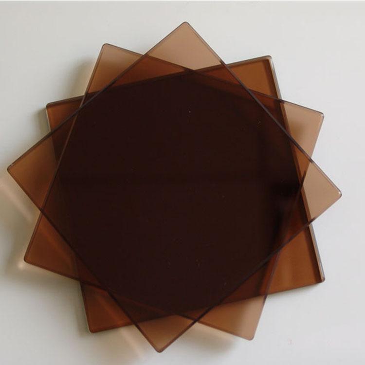 3.2-19mm黑色浮法玻璃原片