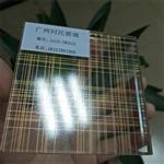 广州同民厂家供应夹丝玻璃 夹绢丝玻璃