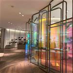 厂家直销 同民幻彩玻璃 变色炫彩玻璃 特种玻璃
