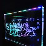 導光玻璃 內雕玻璃 激光內雕刻玻璃 高端定制內雕玻璃