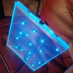 发光玻璃  内镶LED灯珠玻璃 LED发光玻璃