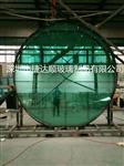 超大中空钢化玻璃圆